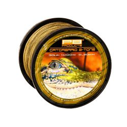 PB PRODUCTS GATOR BRAID 0,26 MM 25 LB 1000 M